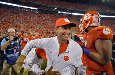 With only losing opponents left, No. 1 Clemson maintains its focus