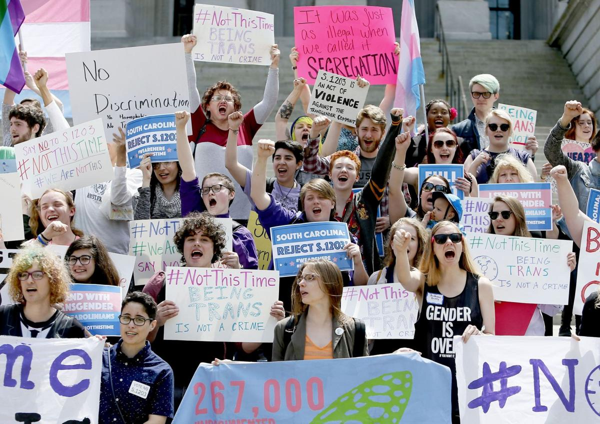 """Hearings and rallies over """"bathroom bill"""" (copy)"""