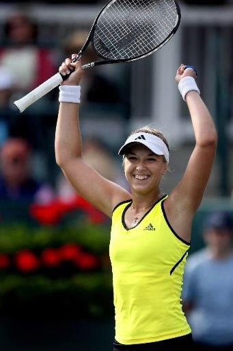 Lisicki, 19, captures her first WTA title