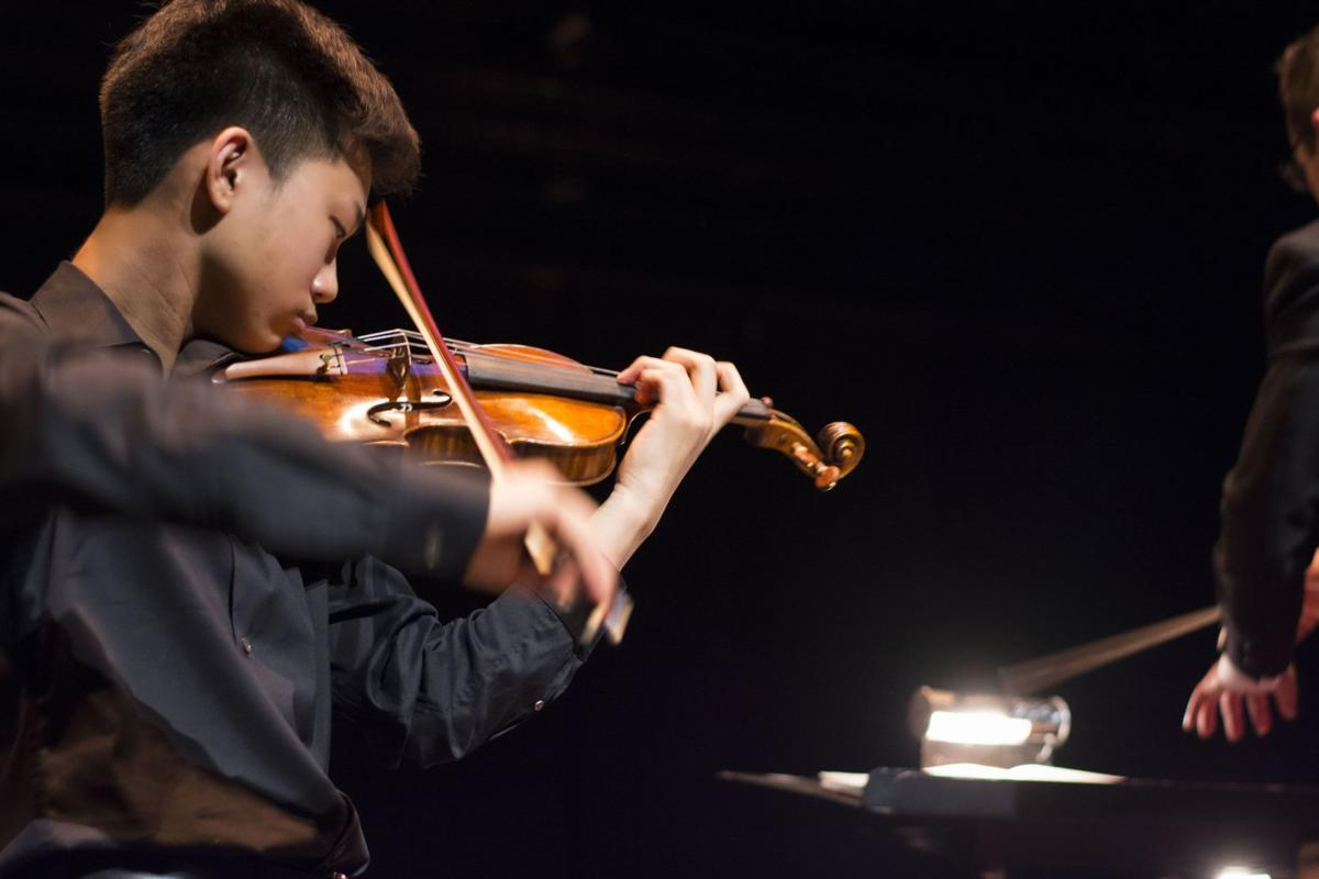 Contest puts youth in spotlight 11 to vie for CSO's classical music award