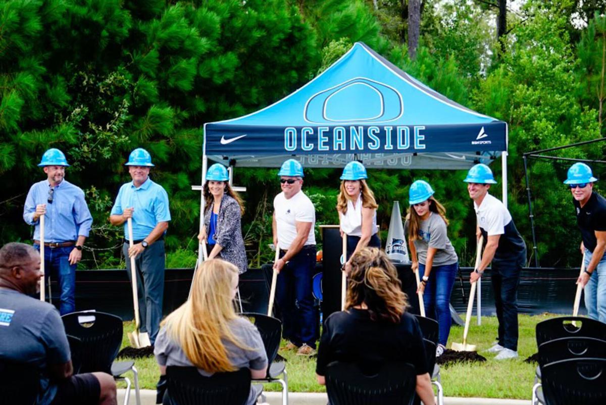 Groundbreaking ceremony at Oceanside Collegiate Academy