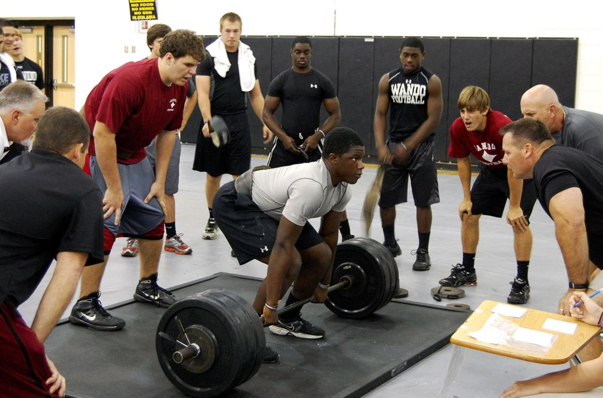 Uplifting experience Athletes hit big weights in regional match