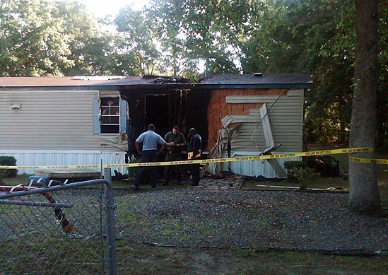 Dog rescues family from burning Johns Island home
