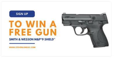 Rep. Steven Long handgun giveaway