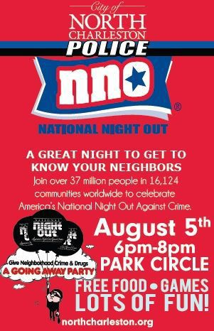 Lowcountry communities to celebrate National Night Out against crime