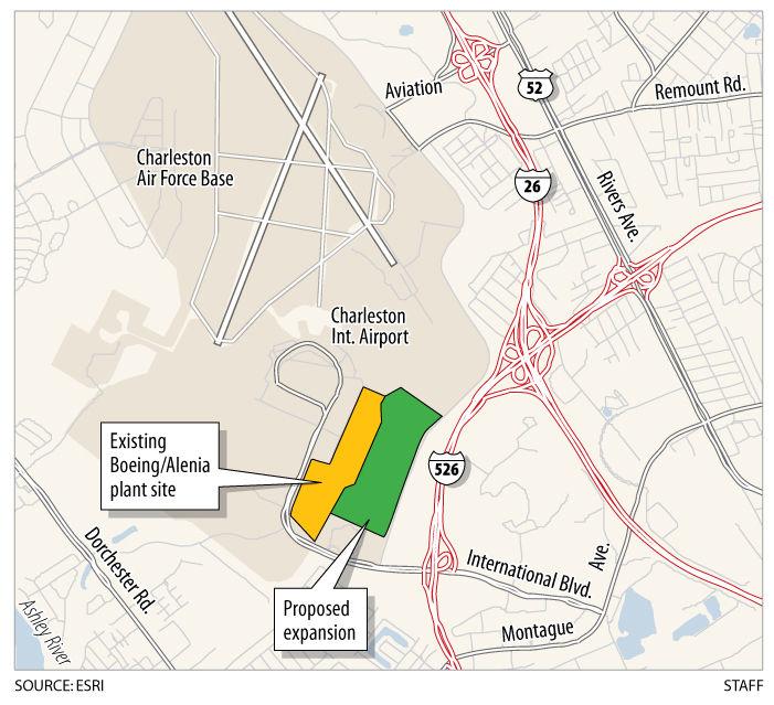 Boeing lands in North Charleston Business postandcouriercom