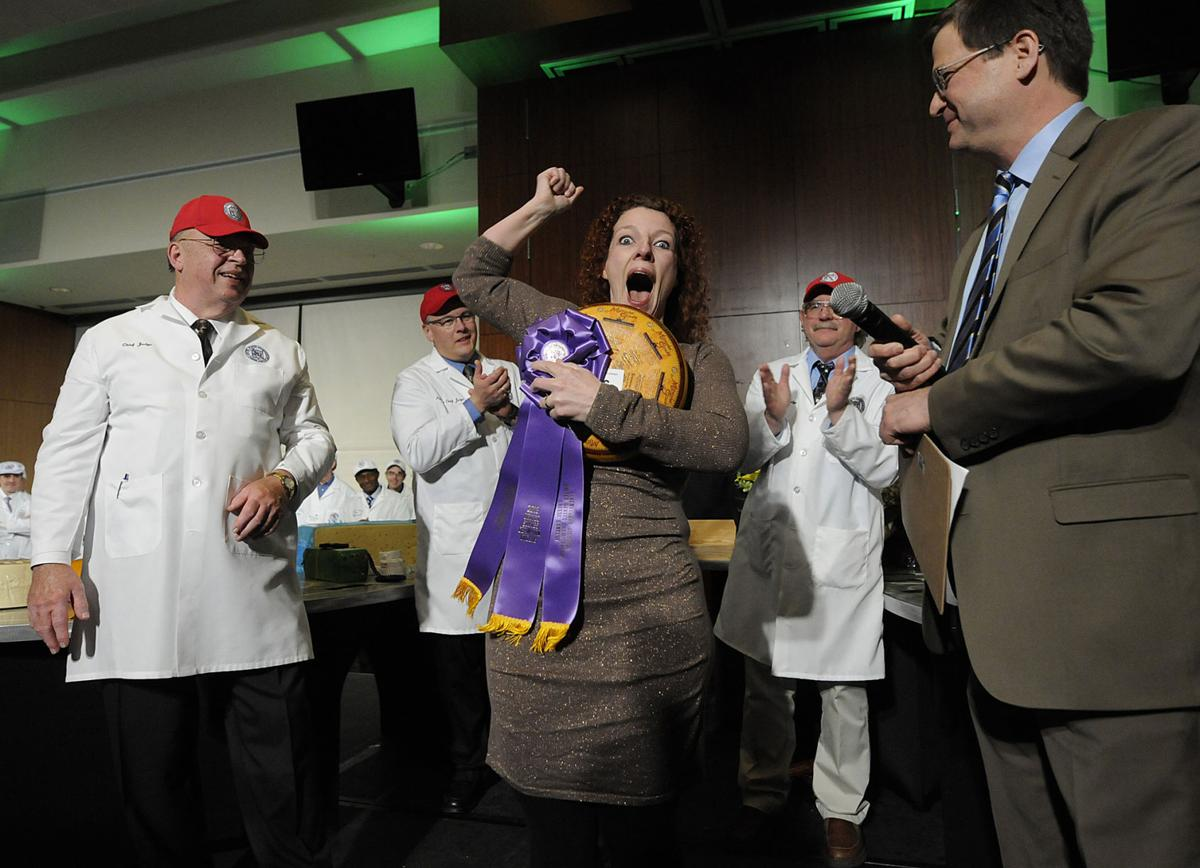 Woman's Wis. Gouda wins 2013 cheese championship