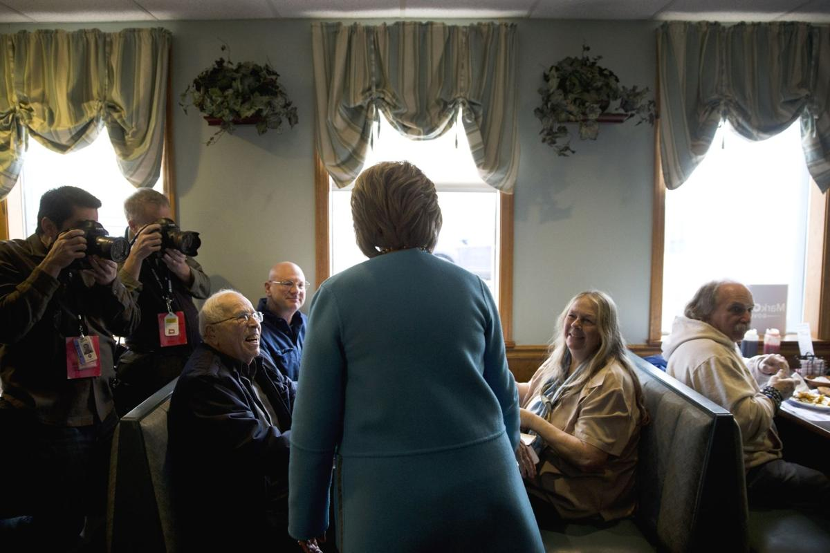 Clinton's donors trade buck-raising for door-knocking in NH
