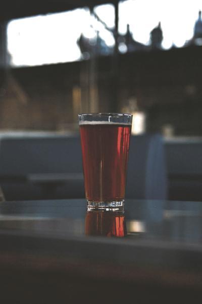 Hunter-Gatherer hangar beer