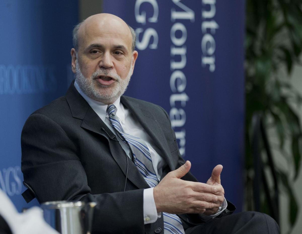Bernanke likens '08 financial crisis to car crash