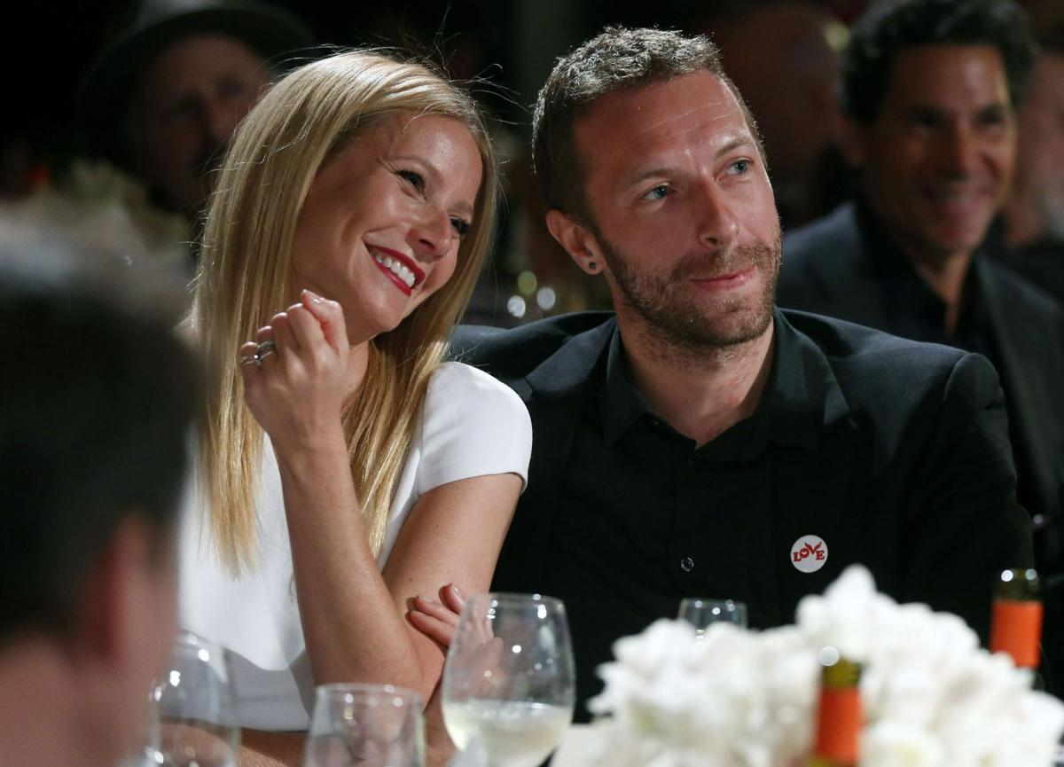 Paltrow files for divorce from singer Martin
