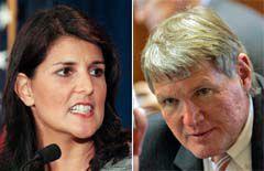 Haley won't testify on ports role