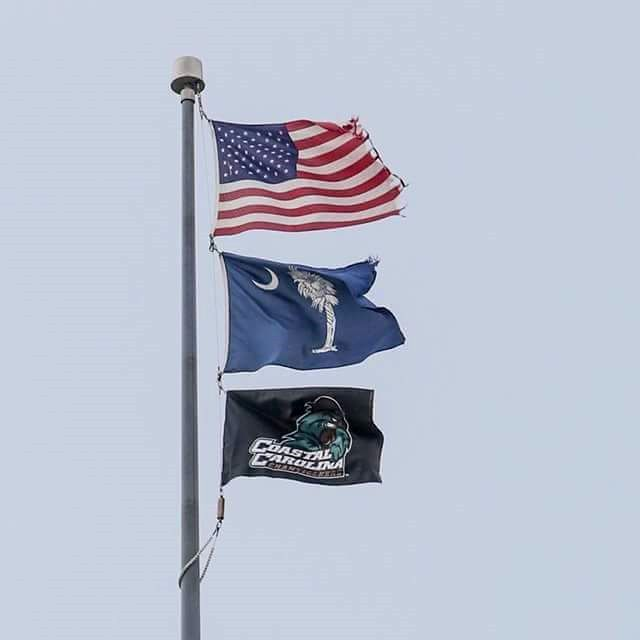Haley accused of illegally flying Chanticleer flag over Statehouse