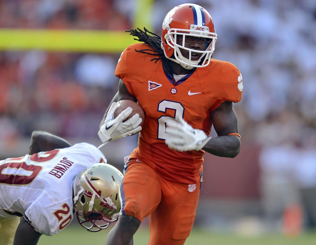 Clemson star Sammy Watkins arrested on drug charges by univesrity police