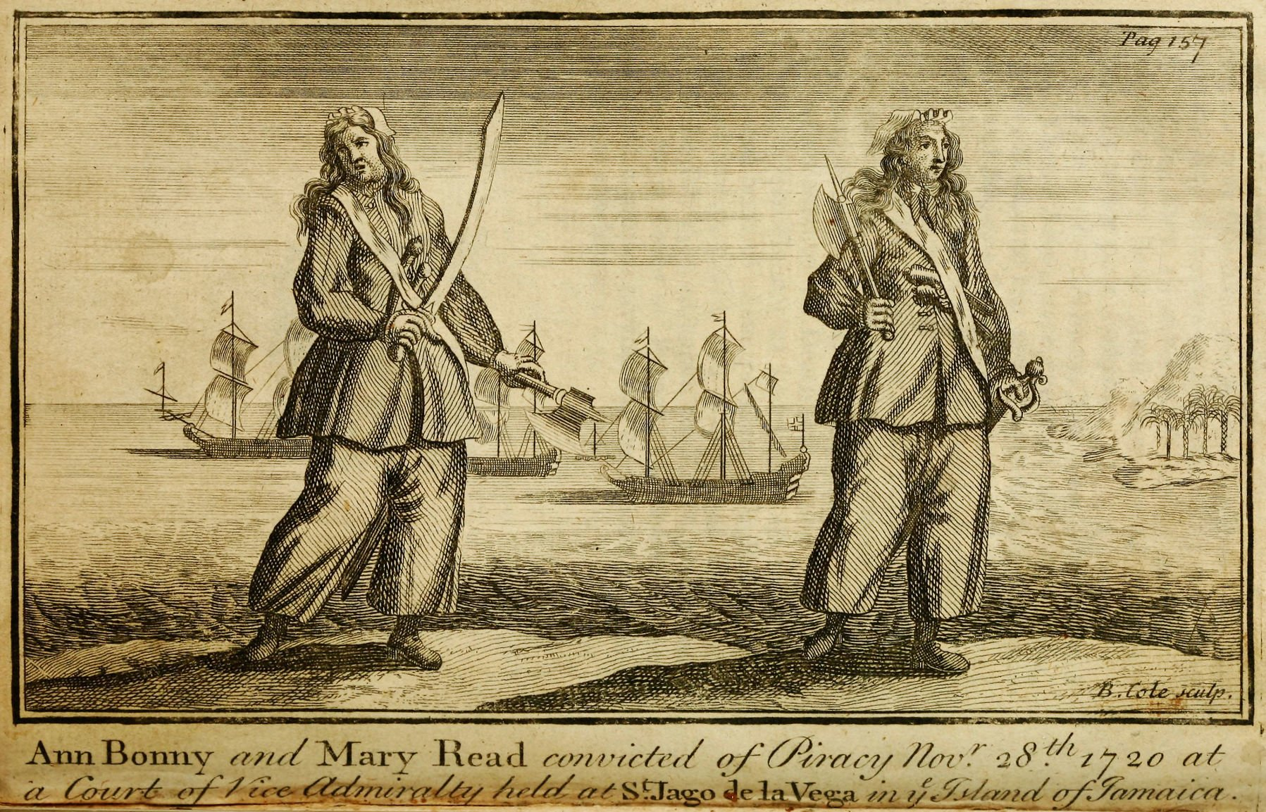 The true and false stories of Anne Bonny, pirate woman of the Caribbean