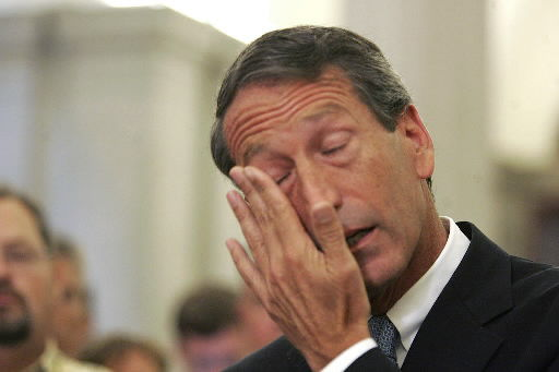 Sanford: I have been unfaithful to my wife