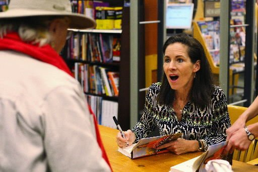 Fans flock to book signing