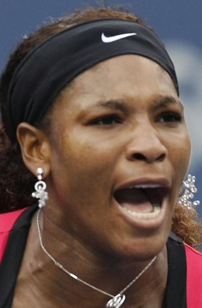 Serena's game, healthare back