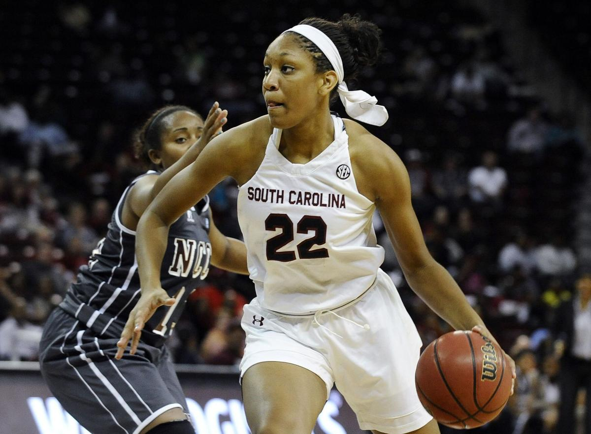 Gamecocks' A'ja Wilson feeling no pressure, and opponents are feeling the pain