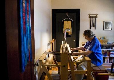 Artist weaves herself a new career
