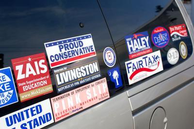 Bumper stickers negate debate