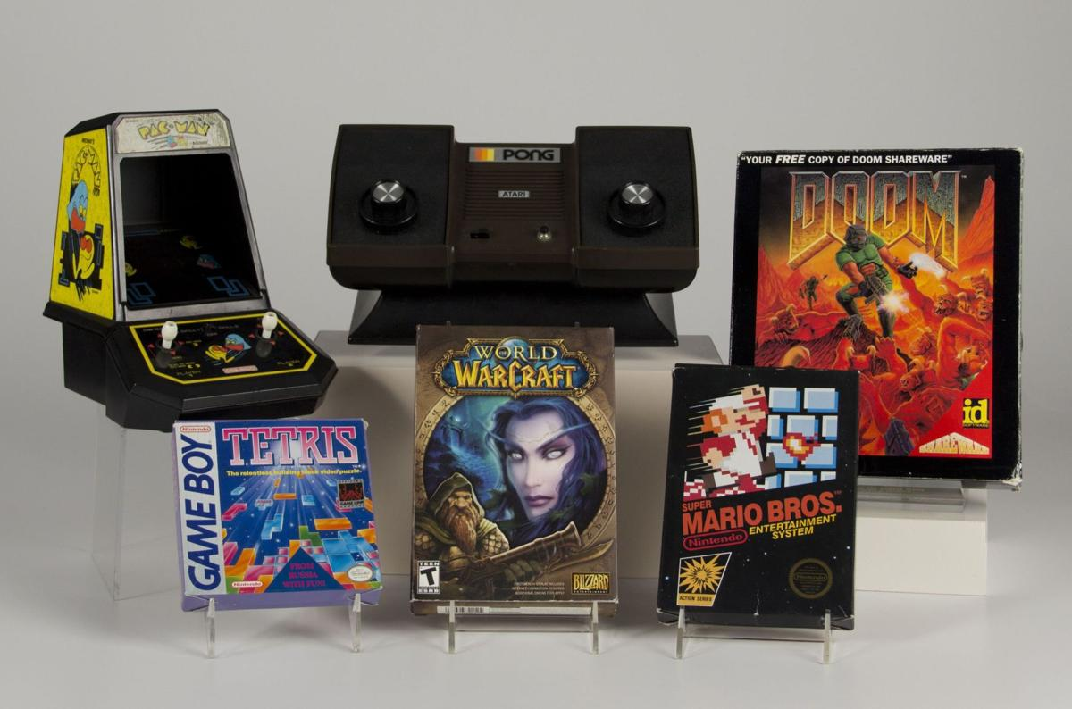 BC-US--Video Game Hall of Fame, 2nd Ld-Writethru,585<\n>'Pong,' 'Tetris' make Video Game Hall of Fame's first class<\n>AP Photo NYR302