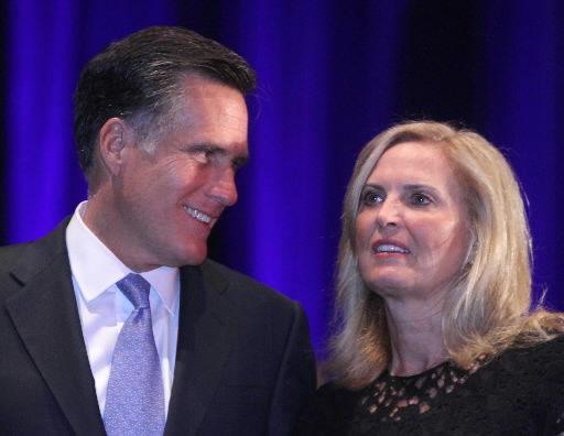 Ann Romney stumps for husband, Mitt