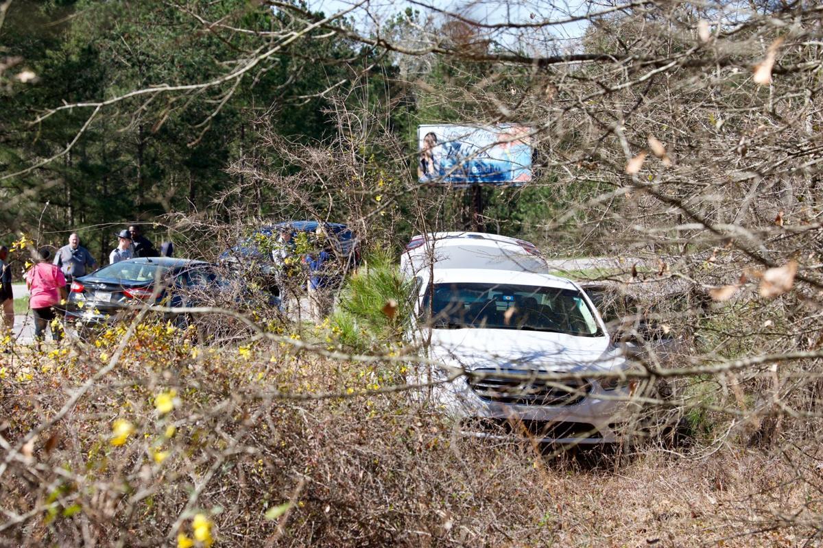 Jeff Davis Crash, White Car Woods