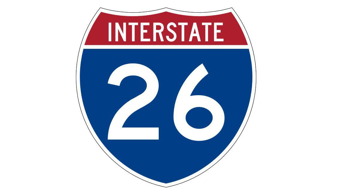 I-26 traffic stalled in both directions due to DOT logging