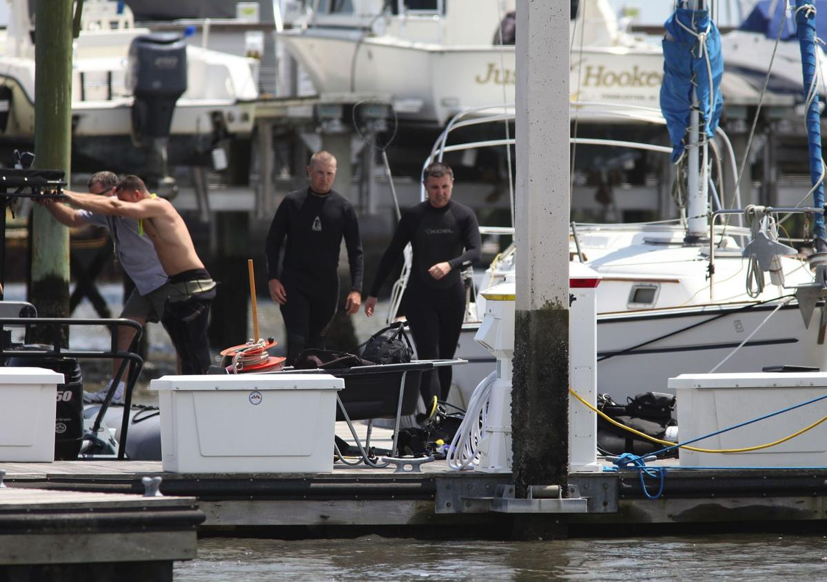 Crews resume search for man at Stono River marina