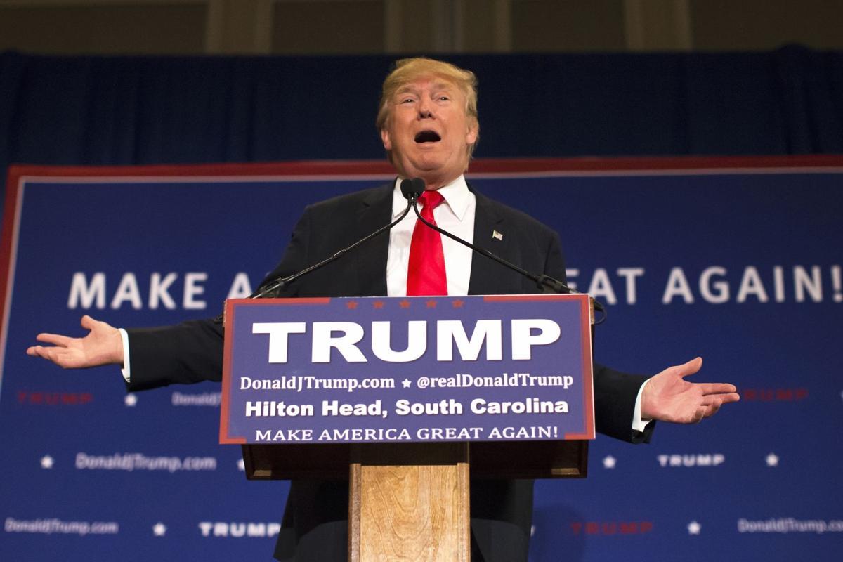 Trump stumps at Hilton Head