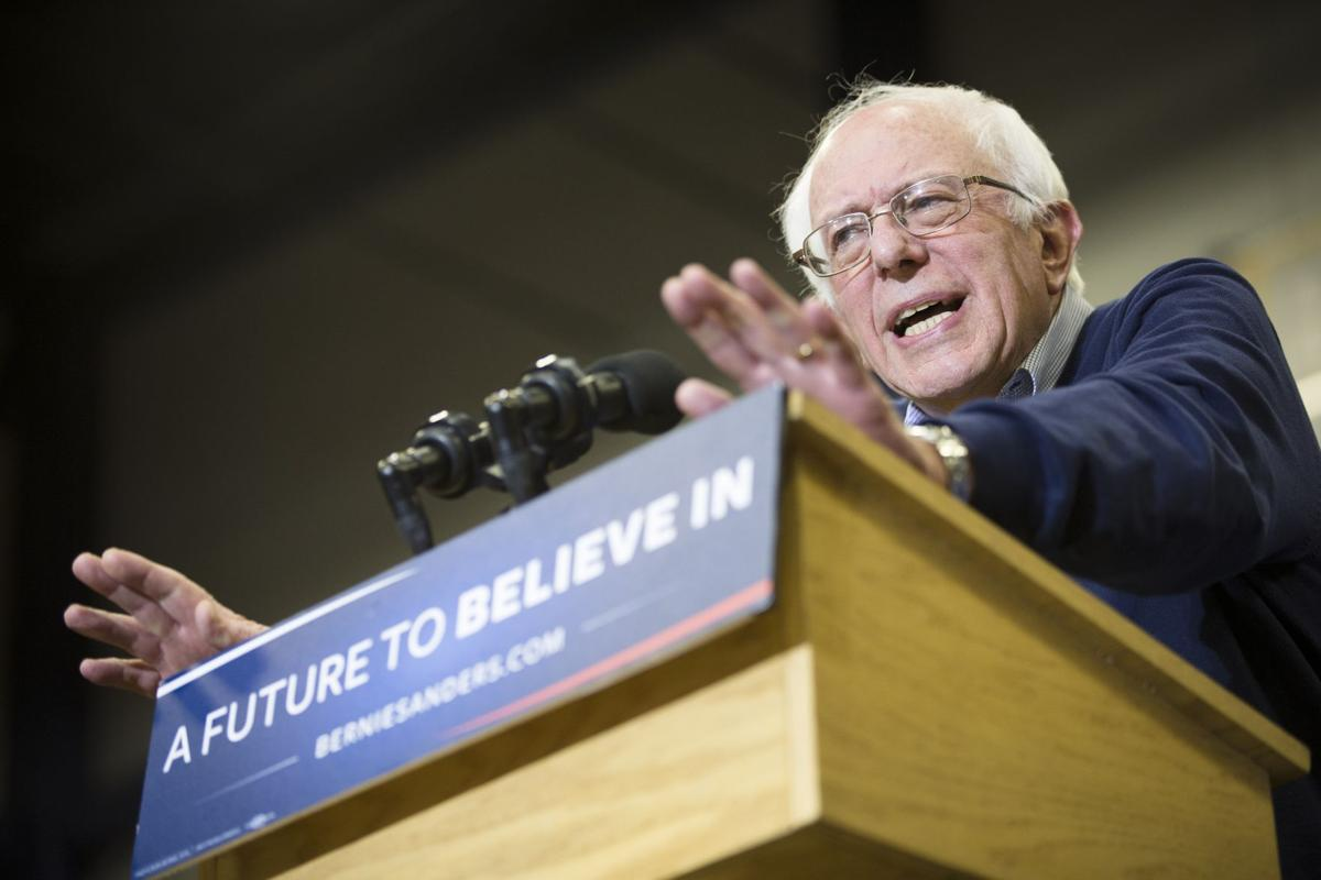 Sanders asked to drop American Legion emblem from campaign