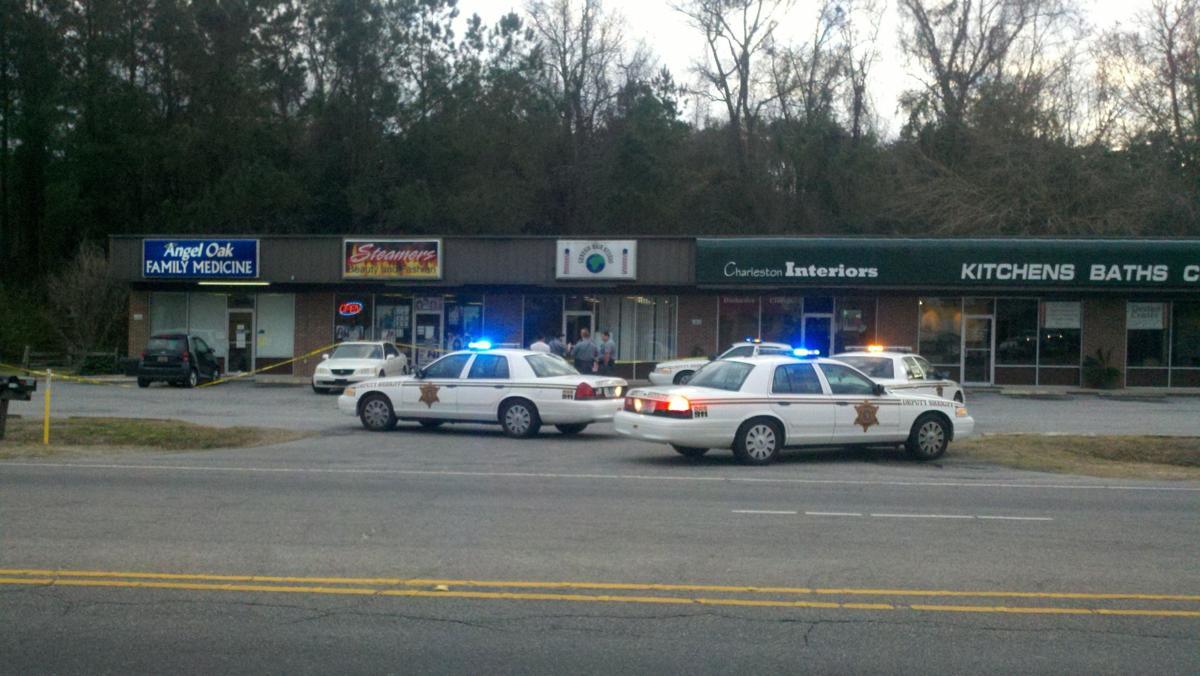Shot fired as robber flees; suspect arrested