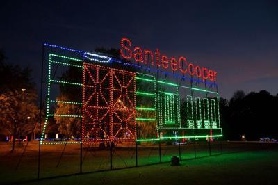 Santee Cooper's holiday light show
