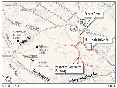 Public meeting tonight on new roads in N. Charleston