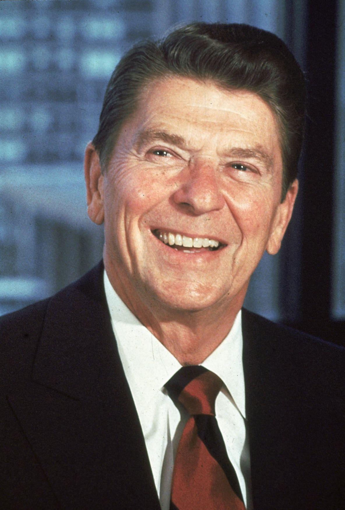 Dark Trump vs. sunny Reagan