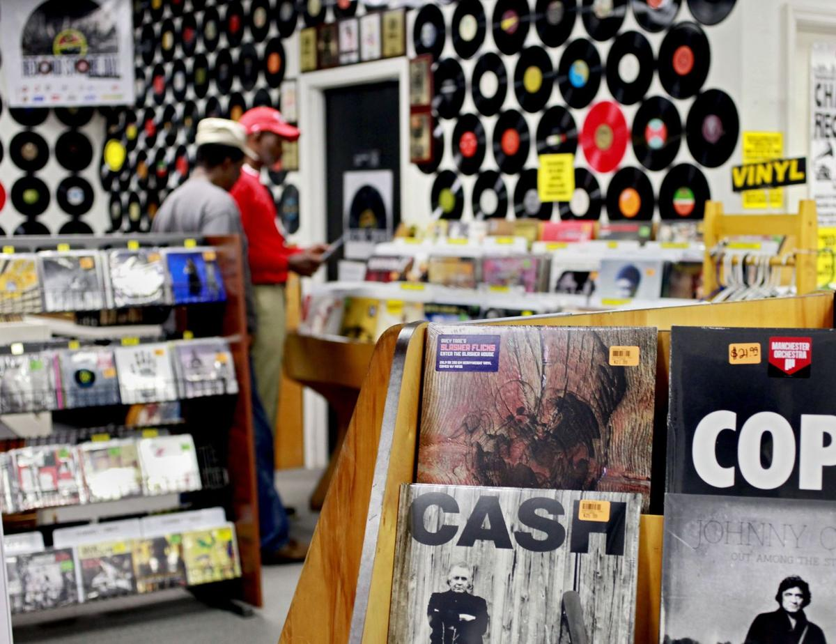 Record Store Day for vinyl Local shops hail 'Black Friday' of record sales