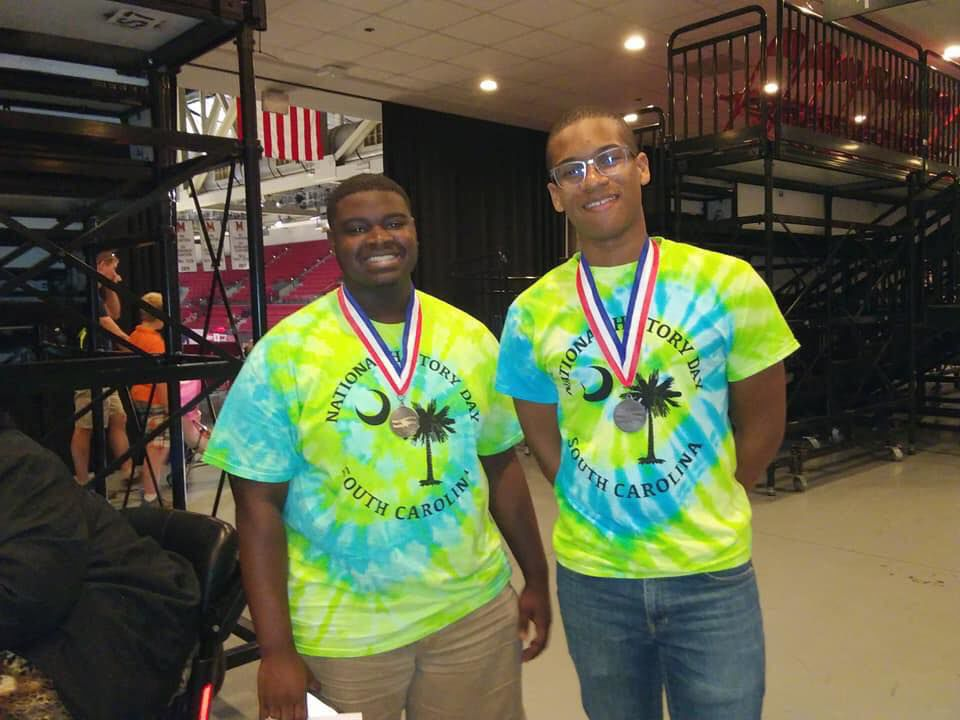 National History Day 2nd place finishers