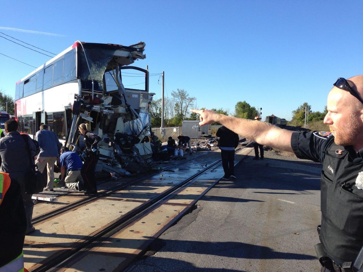 5 killed as Canada passenger train, bus collide in Ottowa