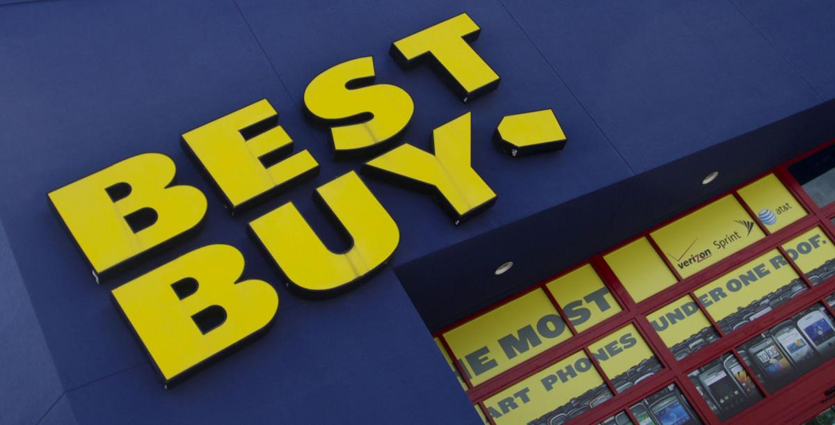 Best Buy holiday sales fall, shares skid