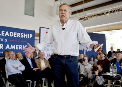 Bush gets campaign tips from audience in S'ville