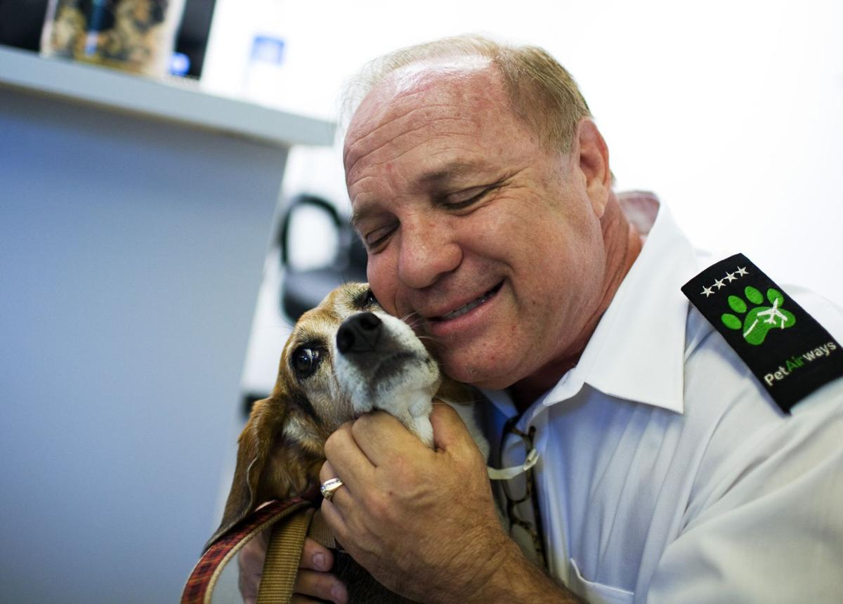All-pet airline hits skies