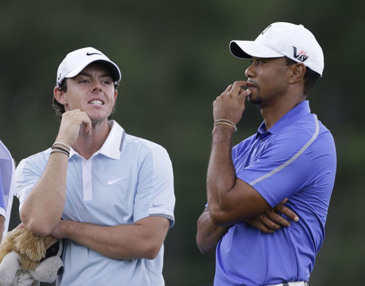 Comparisons to Woods inevitable for McIlroy