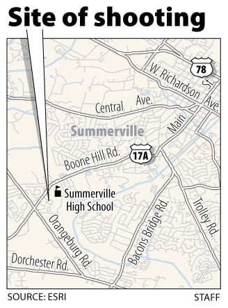 2 cars hit by bullets in Summerville drive-by