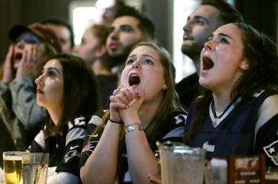 APTOPIX Eagles Patriots Super Bowl Football (copy)