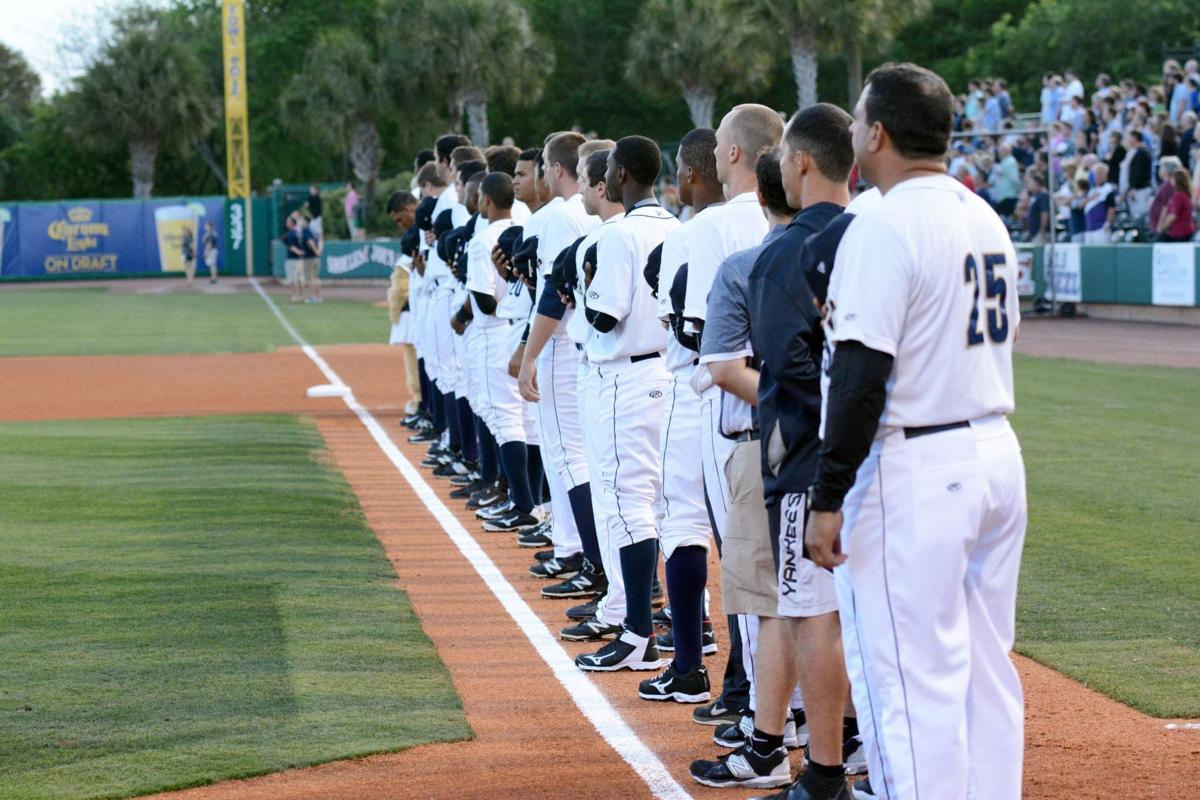 RiverDogs fall, 3-1, to Legends