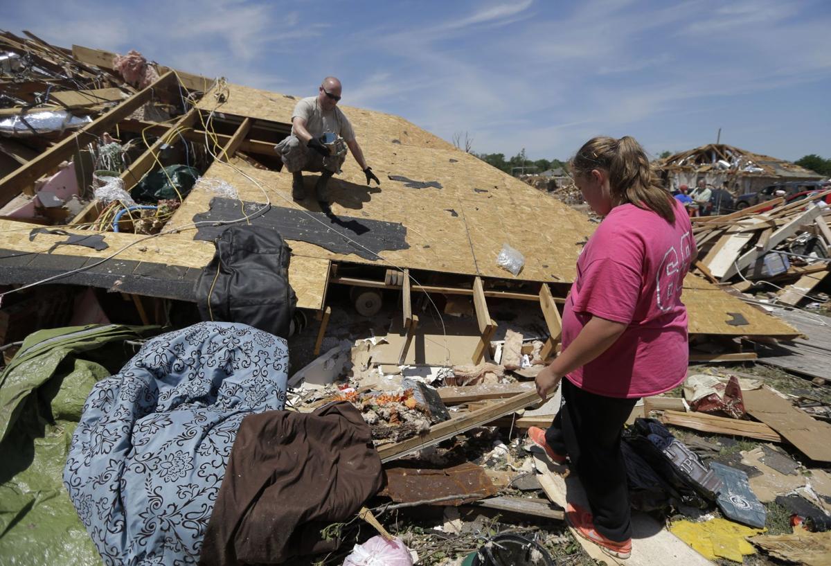 2nd Summerville family dodges Oklahoma tornado Okla. tornado damage could exceed $2 billion