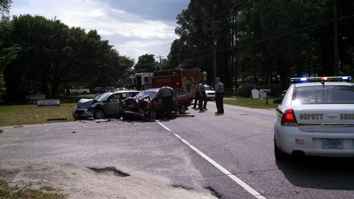 Domestic incident on Johns Island leads to vehicle chase, head-on crash