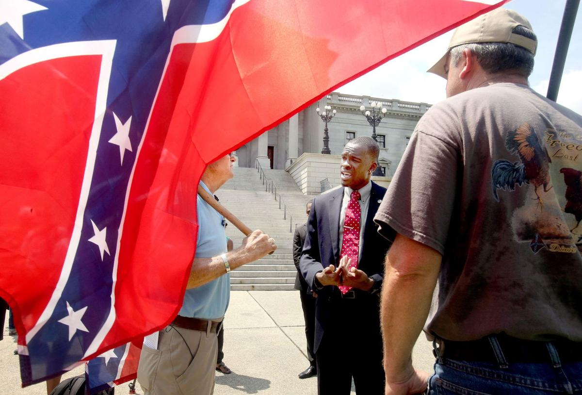 Confederate Flag protests in Columbia