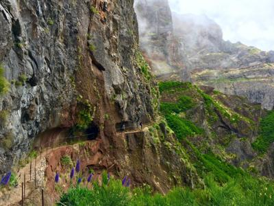 Madeira features trails with heart-stopping cliffs and